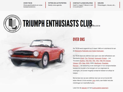 Triumph Enthusiasts Club Belgium